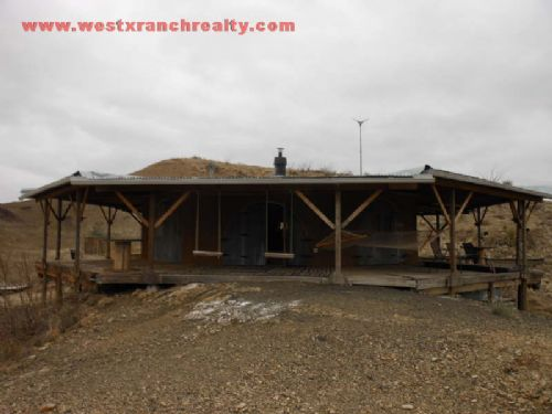 160 Acres With Off Grid House : Study Butte : Brewster County : Texas