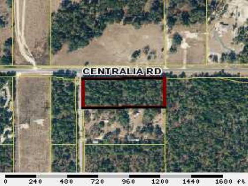 4.5 Acres Commercial Potenial : Brooksville : Hernando County : Florida