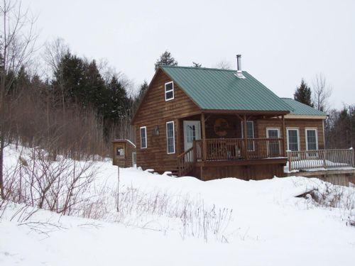 Hampshire Hill Cabin : Mercer : Somerset County : Maine