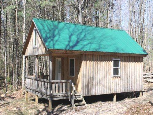 4 Acres With Cabin Tug Hill Region : Redfield : Oswego County : New York