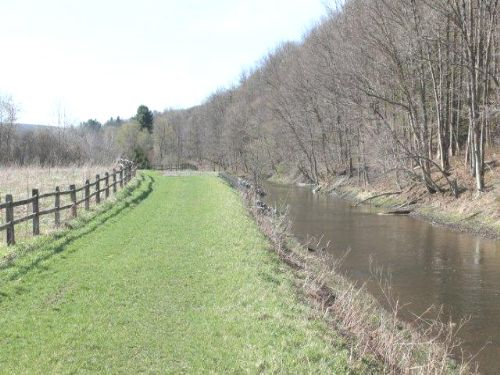 Land On The Black River Canal : Boonville : Oneida County : New York