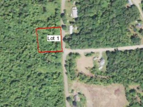 Affordable Approved Building Lot : Saint Albans : Somerset County : Maine