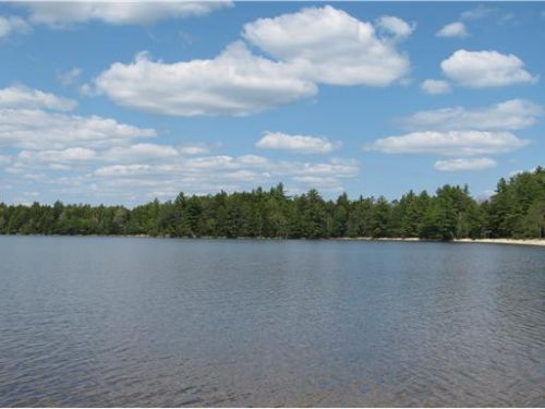 Cabin On The Point,upper Sabao Lake : Wesley : Washington County : Maine