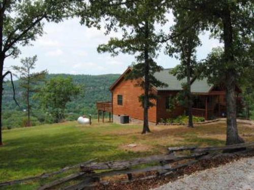 Custom Home Atop White Mountain : Mountain View : Izard County : Arkansas