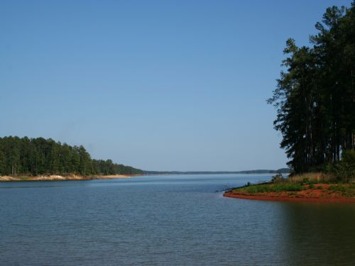 Breathtaking View Of The Lake : Mccormick : McCormick County : South Carolina