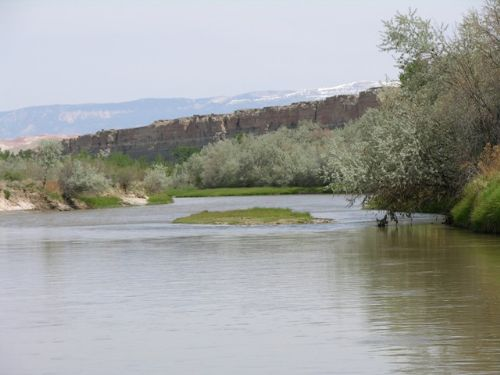 Greybull And Big Horn River : Greybull : Big Horn County : Wyoming