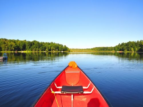 5 Acres 74' On Bass Lake $24,900 : Amboy : Oswego County : New York