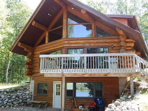 Lehto Lake Privacy Home On 129 Acs : Sherman : Iron County : Wisconsin