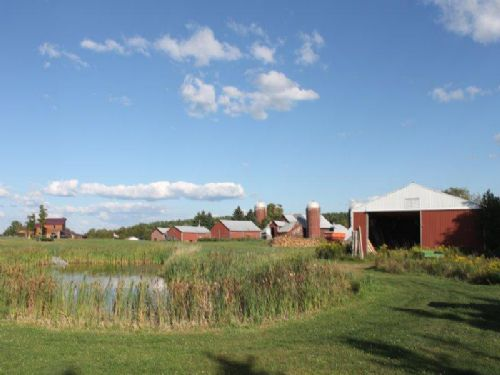 360 Acres Ranch Tillable Acres Home : Constableville : Lewis County : New York