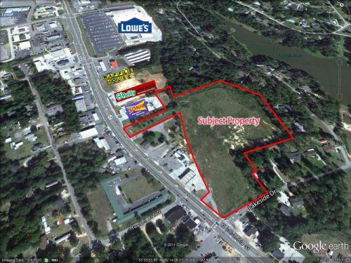 10.89 Acres On Hwy 441 : Milledgeville : Baldwin County : Georgia
