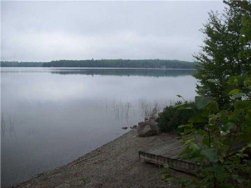 On Embden Pond : Embden : Somerset County : Maine