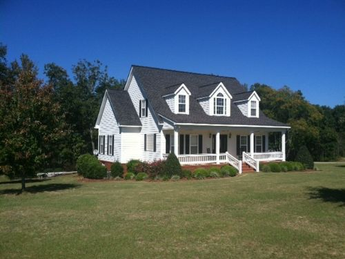3,000 Sq. Ft. Custom Home, 56 Acres : Ellaville : Schley County : Georgia
