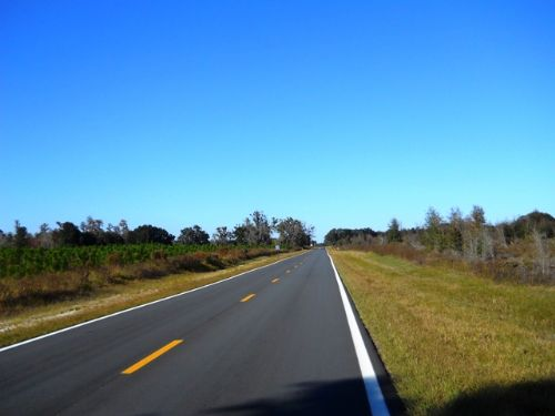 Paved Road Frontage : Lake City : Columbia County : Florida