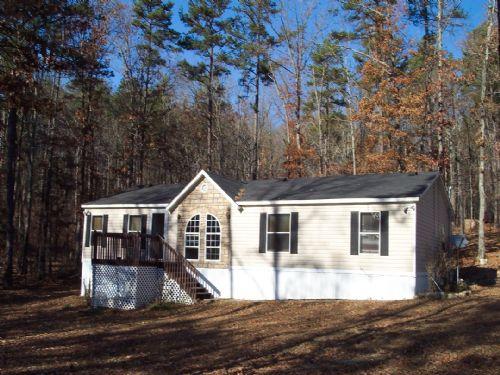 5 Acres & 3 Br/2 Ba Mobile Home : Kingston : Bartow County : Georgia