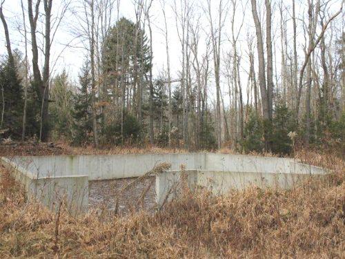 7 Acres Poured Foundation Driveway : Redfield : Oswego County : New York