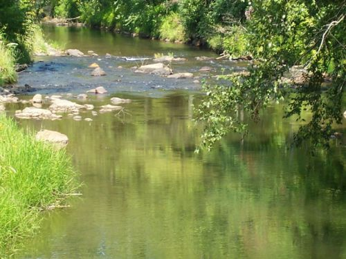 Building Site / Trout Water : Hayesville : Clay County : North Carolina