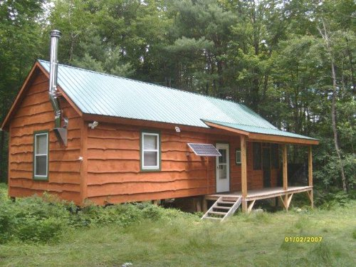 3 Acres Cabin Borders State Forest : Annsville : Oneida County : New York