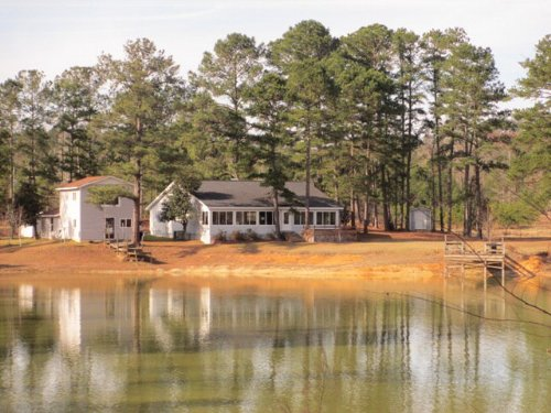 Great Home On 124ac & 10ac Lake : Troy : Pike County : Alabama