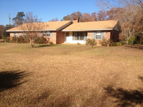 2Br/2Ba Home On 28+/- Ac : Troy : Pike County : Alabama