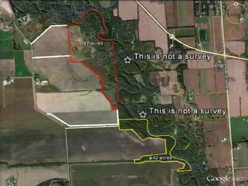 42 Ac Of Rec Land On Sugar River : Brodhead : Green County : Wisconsin