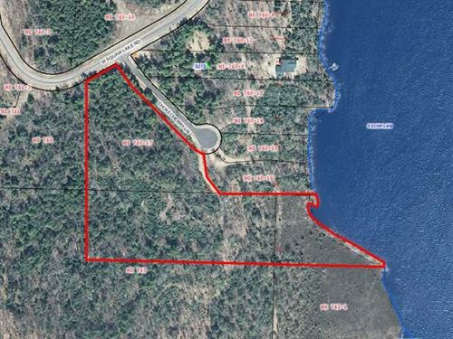 Mls 163060, Lot 25 Squaw Lk : Minocqua : Oneida County : Wisconsin