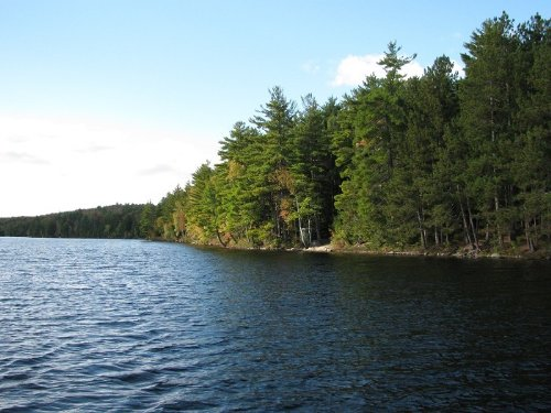 Long Pond Waterfront Lot : Lincoln : Penobscot County : Maine
