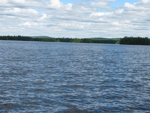 Junior Lake Waterfront Lot : Lakeville : Penobscot County : Maine