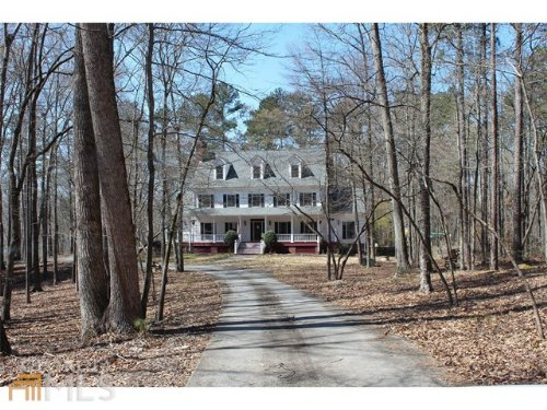 Elegant 3-story Home On 11+ Acres : Social Circle : Walton County : Georgia