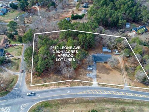 3.96 Acres On Potential Commercial : Loganville : Walton County : Georgia