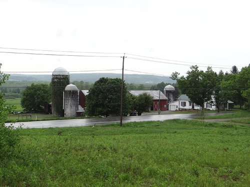 162 Acres Farm Farmland Pond : Gerry : Chautauqua County : New York