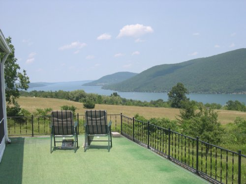 House With Canandaigua Lake Views : South Bristol : Ontario County : New York
