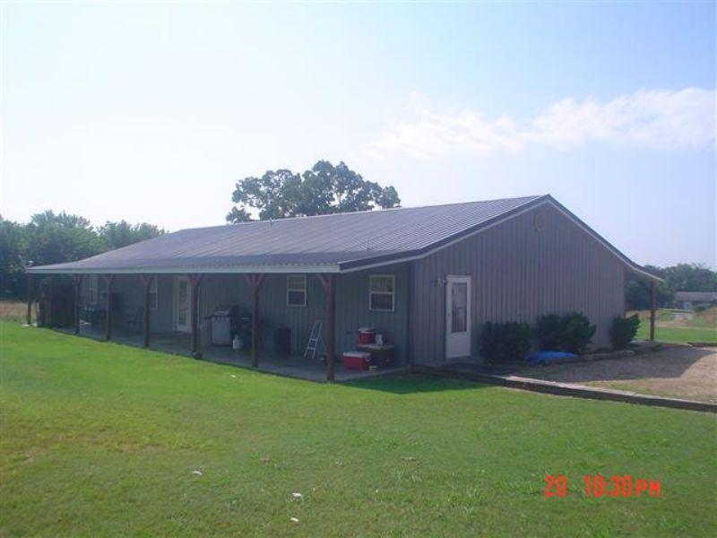 5 Bedroom 3 Bath Home On 5 M/l Acre : Tahlequah : Cherokee County : Oklahoma