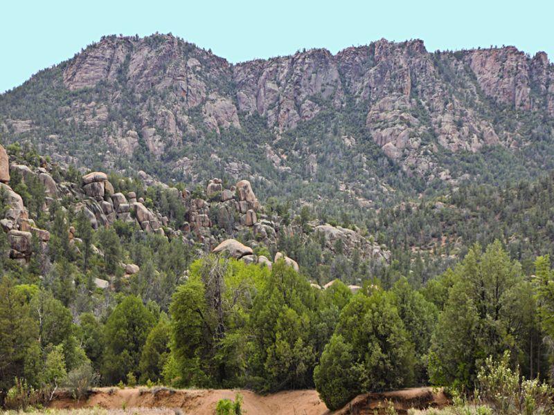 Payson Arizona Ranch Estate : Payson : Gila County : Arizona