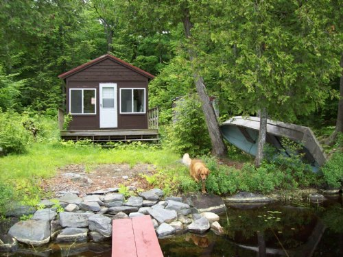 Rustic Cabin Second Davis Pond : Willimantic : Piscataquis County : Maine