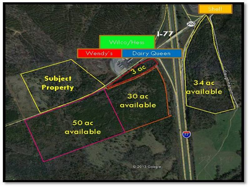 I-77 & Hwy 200 Interchange 31ac : Winnsboro : Fairfield County : South Carolina
