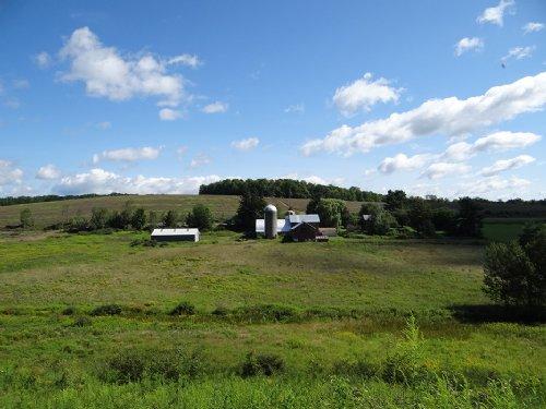 209 Acres Farmland House Barns : Newark Valley : Tioga County : New York
