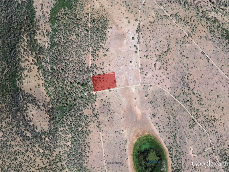 2.56 Acre Lot Near Klamath Falls : Dorris : Siskiyou County : California