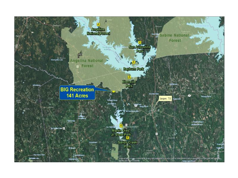 53 Acres- County Road 37 : Jasper : Jasper County : Texas