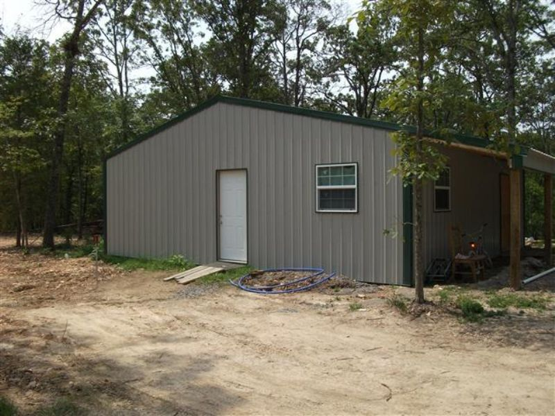 30 M/l Acres With Framed House : Tahlequah : Cherokee County : Oklahoma
