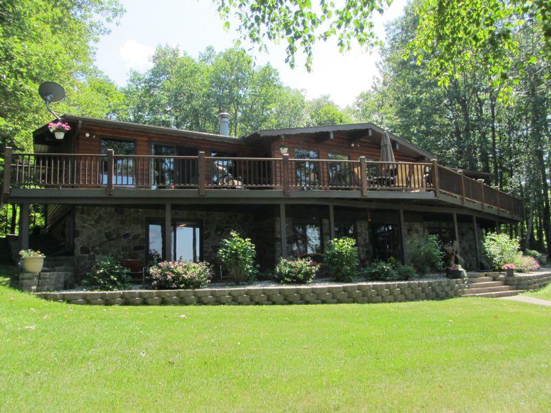 Sugar Camp Chain Ranch Home : Sugar Camp : Oneida County : Wisconsin