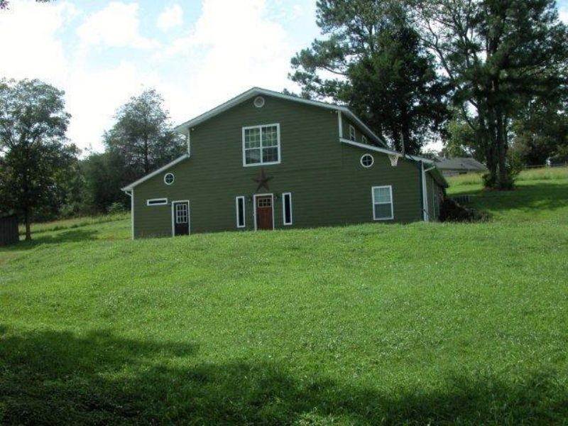Converted Barn 5br/2br On 19 Acres : Ashland : Clay County : Alabama