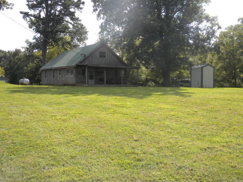 120 Acre Cattle Farm : Summersville : Texas County : Missouri