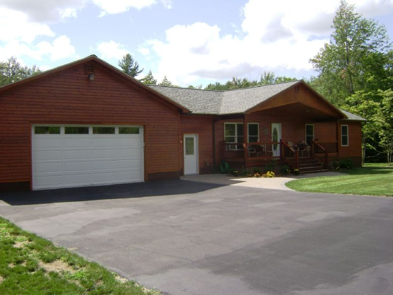 6.9 Acre Riverfront And Home : Greig : Lewis County : New York