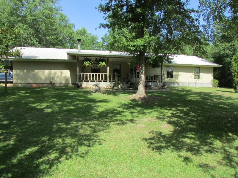 3br/ 2ba Home On 34 Acres : Purvis : Lamar County : Mississippi