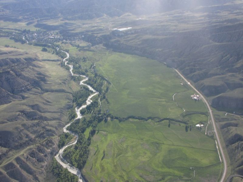Flying River Ranch : Cody : Park County : Wyoming