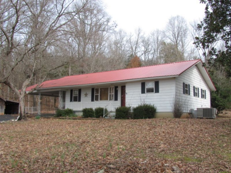 Nice Country Home On 2 Acres : Bath Springs : Decatur County : Tennessee