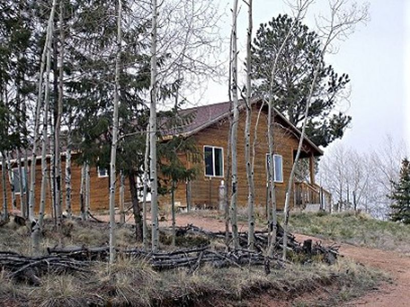 Colorado Mountain Cabin : Florissant : Teller County : Colorado