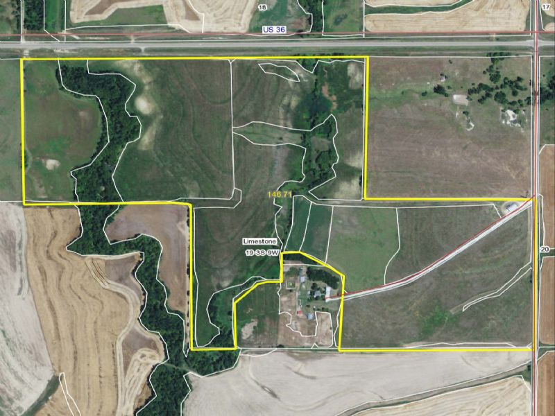 145 Acres : Esbon : Jewell County : Kansas