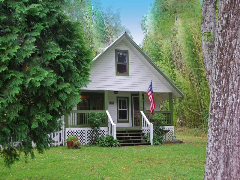 Country Cottage On 3.39ac : Blue Ridge : Fannin County : Georgia