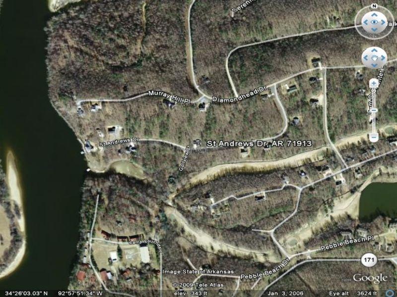 Build Here : Lake Hamilton : Garland County : Arkansas